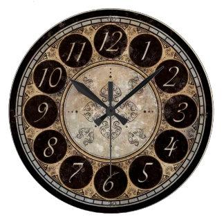 Relógio Grande Pulso de disparo de Steampunk