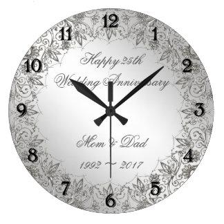 Relógio Grande Pulso de disparo do aniversário de casamento da