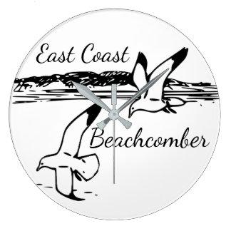 Relógio Grande Pulso de disparo do Beachcomber da costa leste da