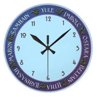 Relógio Grande Pulso de disparo do feriado de Wiccan