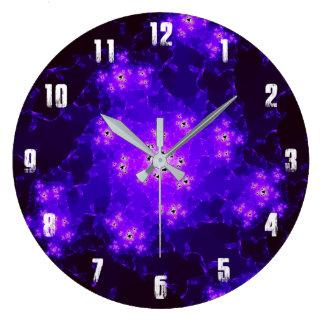 Relógio Grande Pulso de disparo do Fractal da nebulosa