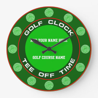 Relógio Grande Pulso de disparo do golfe