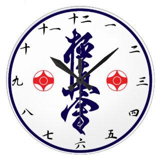 Relógio Grande Pulso de disparo do Kanji do karaté de Kyokushin