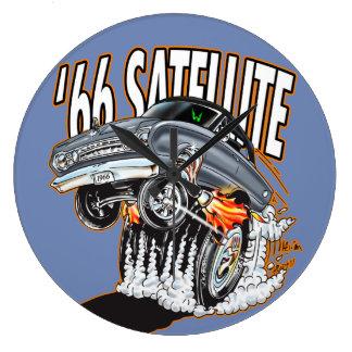 Relógio Grande 'Pulso de disparo do satélite do hot rod de 66