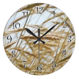 Relógio Grande Pulso de disparo do trigo & do céu