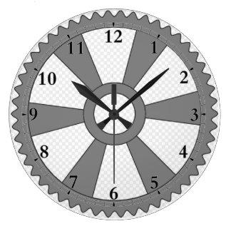 Relógio Grande Pulso de disparo do vapor