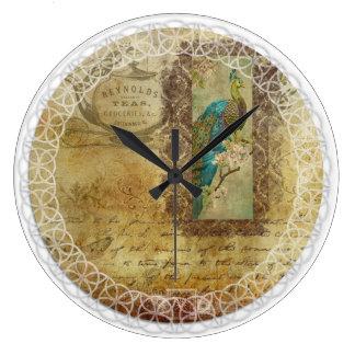 Relógio Grande pulso de disparo do Victorian do Chá-tempo