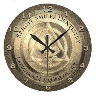 Relógio Grande Pulso de disparo feito sob encomenda do dentista