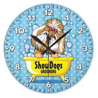 Relógio Grande Pulso de disparo Groomer-Personalizado Salão de