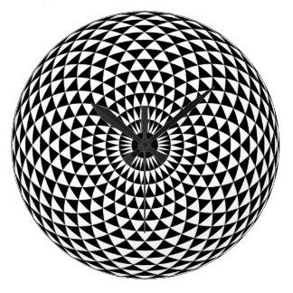 Relógio Grande Pulso de disparo hipnótico criativo para sua casa