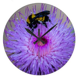 Relógio Grande Pulso de disparo Pollinating dos Wildflowers da