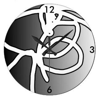 Relógio Grande Pulso de disparo quebrado do círculo da esfera II