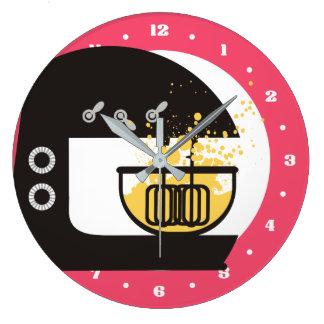 Relógio Grande Pulso de disparo Splashy da cozinha do misturador