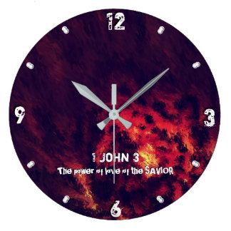 Relógio Grande Purify, o poder do amor do SALVADOR 93