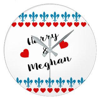 Relógio Grande Quando Harry encontrou Meghan