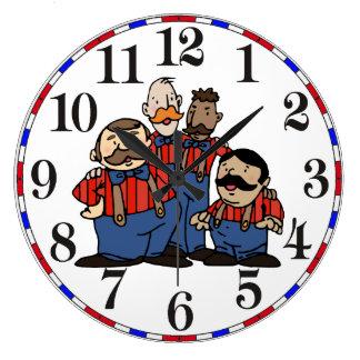Relógio Grande Quarteto velho 2 do barbeiro da forma