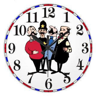Relógio Grande Quarteto velho Trois do barbeiro da forma