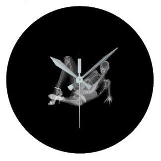 """Relógio Grande Radiografia """"sexy"""" da mulher de esqueleto"""