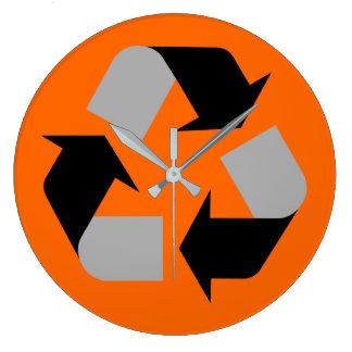 Relógio Grande Reciclar