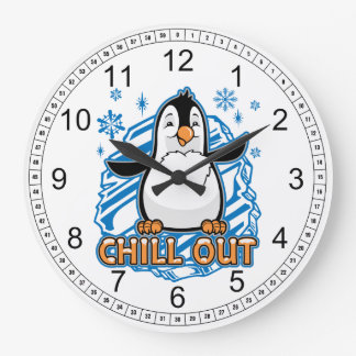 Relógio Grande Refrigere para fora o pinguim