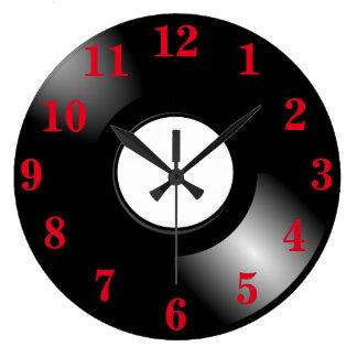 Relógio Grande Registro de vinil LP