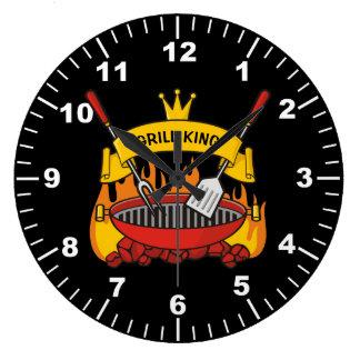Relógio Grande Rei da grade