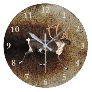 Relógio Grande Rena - caribu de Bull