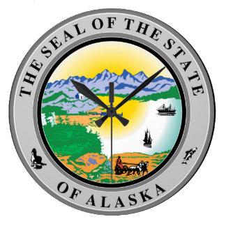Relógio Grande Repu do símbolo da bandeira de Estados Unidos