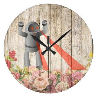 Relógio Grande Robô do ataque