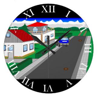 Relógio Grande Ruas e construção de casa