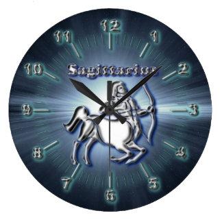 Relógio Grande Sagitário do cromo
