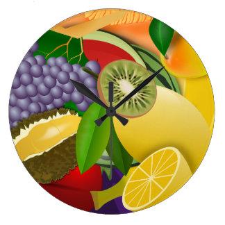 Relógio Grande Salada de fruta