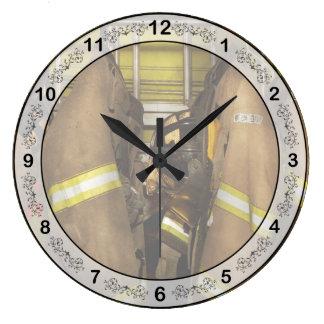 Relógio Grande Sapador-bombeiro - engrenagem do depósito