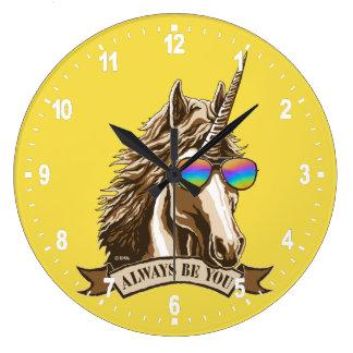 Relógio Grande Seja sempre você