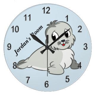 Relógio Grande Selo de bebê bonito do pulso de disparo das