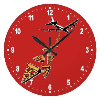 Relógio Grande Sem guerra mais pizza