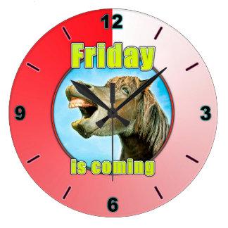 Relógio Grande Sexta-feira está vindo