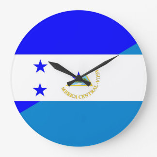 Relógio Grande símbolo do país da bandeira de honduras Nicarágua
