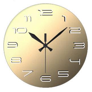 Relógio Grande Simplicidade elegante do Sepia