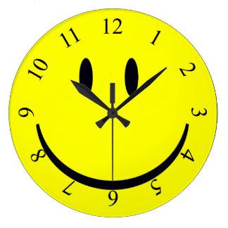 Relógio Grande Smiley face