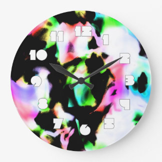Relógio Grande Sonho psicadélico