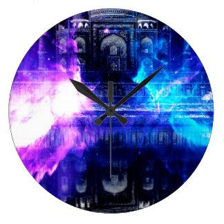 Relógio Grande Sonhos de Amorem Amisi Taj Mahal do anúncio