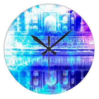 Relógio Grande Sonhos de Taj Mahal do céu da criação