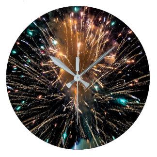Relógio Grande Starburst