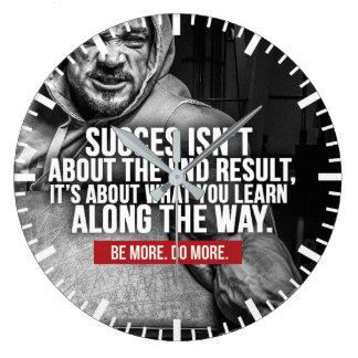 Relógio Grande Sucesso e aprendizagem - inspiração do exercício