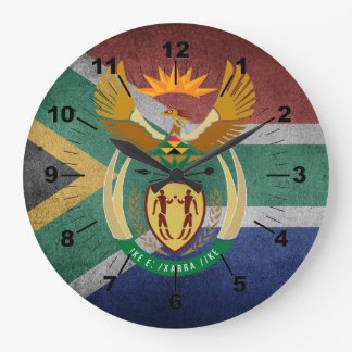 Relógio Grande Sul - bandeira africana