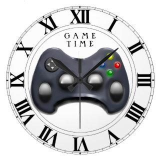 Relógio Grande Tempo do Gamer