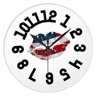 Relógio Grande Tempo dos lábios