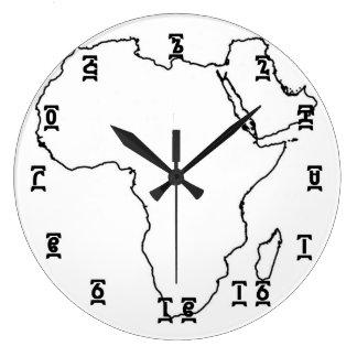 Relógio Grande Tempo etíope de África - (grande) pulso de disparo