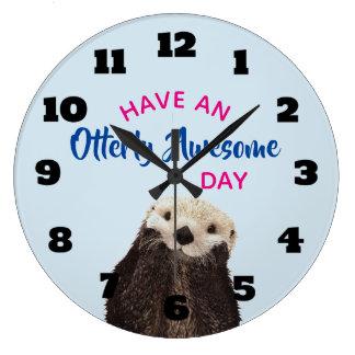Relógio Grande Tenha uma foto bonito da lontra do dia